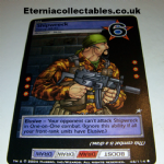 G.I.Joe Trading card Game 2004 46/114 No 46 Shipwreck (uncommon) @sold@